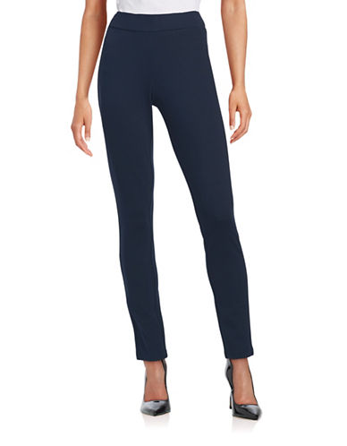 Nydj Slimming Fit Basic Leggings-BLUE-14