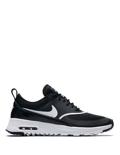 Nike Womens Air Max Thea Shoes-BLACK-10