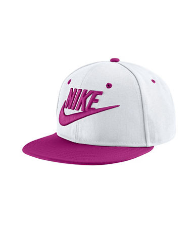 Nike Futura True Adjustable Hat-WHITE-One Size