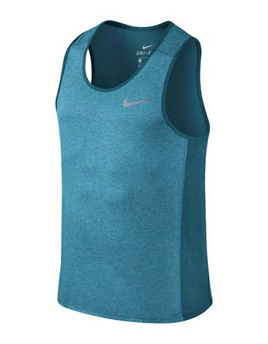 Nike Miler Dry Running Tank Top-AQUA-XX-Large 89848012_AQUA_XX-Large