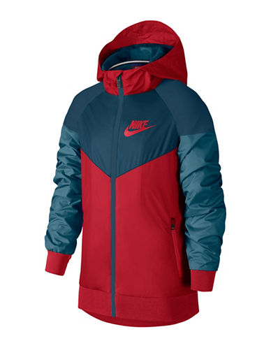 Nike Windrunner Hooded Jacket-RED-Medium 89827540_RED_Medium
