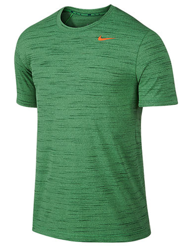 Nike Dri Fit Tee Heathered-GREEN-X-Large 87369992_GREEN_X-Large