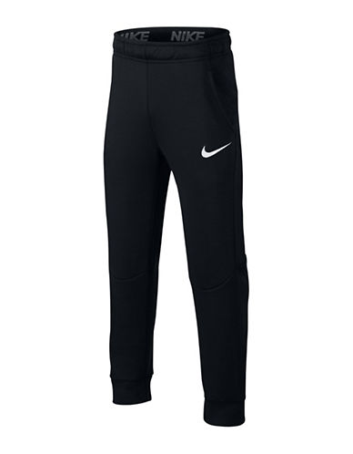 Nike Dry Fleece Training Pants-BLACK-Large 89827573_BLACK_Large