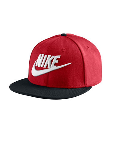 Nike Unisex Wool Baseball Cap-RED-One Size