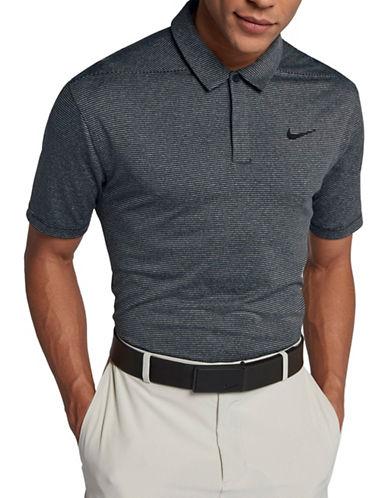 Nike Striped Dry Golf Polo-BLACK-Medium 90028976_BLACK_Medium