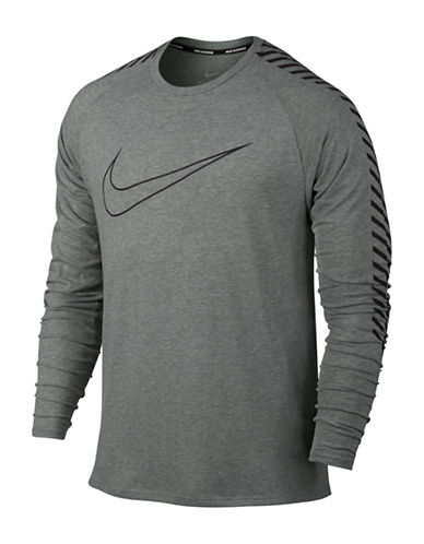 Nike Breathe Running Top-GREY-XX-Large 88925625_GREY_XX-Large