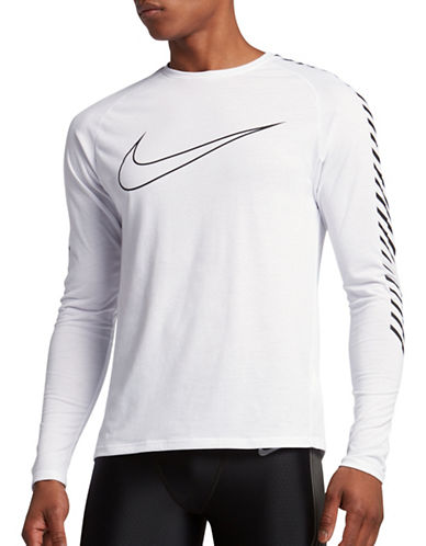 Nike Breathe Running Top-WHITE-XX-Large 89087528_WHITE_XX-Large