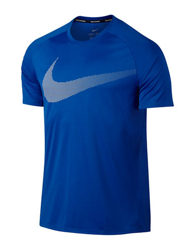 Nike Dry Running T-Shirt-BLUE-Medium 89017778_BLUE_Medium