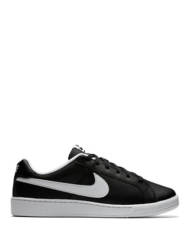 Nike Court Royale Leather Sneakers-BLACK-12