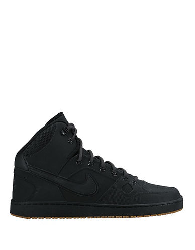 new style c7509 b1e6a ... UPC 888410157589 product image for Nike Son of Force Mid Winter Sneakers -BLACK-8.5