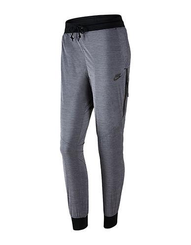 Nike Bonded Woven Pants-GREY-X-Large 88227112_GREY_X-Large