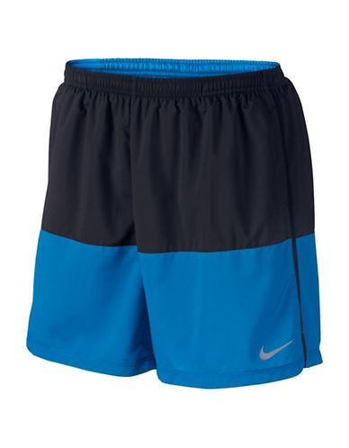 Nike Distance  Flex Running Shorts-BLACK-Large 88595361_BLACK_Large