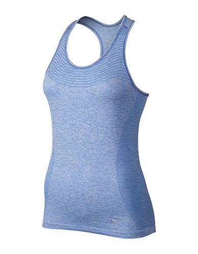 Nike DriFit Knit Tank-BLUE-X-Large 88184065_BLUE_X-Large