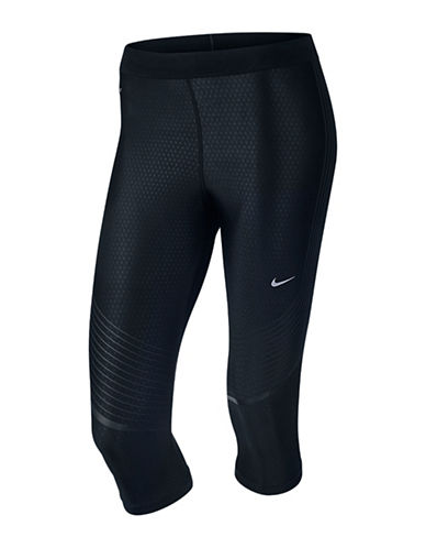 Nike Power Speed Dri-FIT II Capris-BLACK-Large 88390858_BLACK_Large