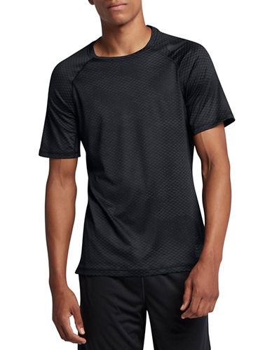 Nike Pro Hypercool Tee-BLACK-Medium