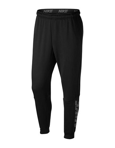 Nike Tapered Fleece Dry Training Pants-BLACK-XX-Large