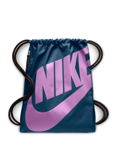 Nike Heritage Gym Sack-BLUE-One Size