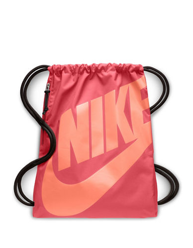 Nike Heritage Gym Sack-CORAL-One Size