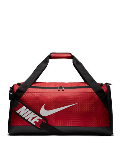 Nike Brasilia Medium Training Duffel Bag-RED-One Size 89837509_RED_One Size