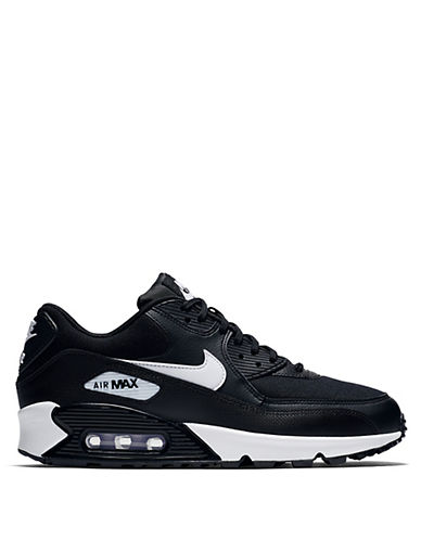 Nike Womens Air Max 90 Leather Mesh Sneakers 90057669