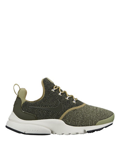 Nike Womens Presto Ultra SE Shoes-GREEN-6.5