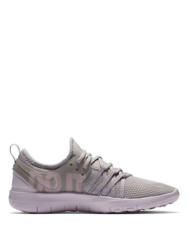 Nike Womens Free TR 7 Premium Training Shoes-GREY-8.5
