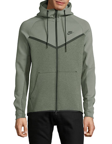 Nike Sportswear Tech Fleece Windrunner Hoodie-GREY-X-Large 90070449_GREY_X-Large