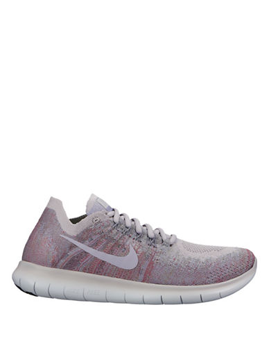 Nike Womens Free RN Flyknit 2017 Running Shoes-MULTI-9.5