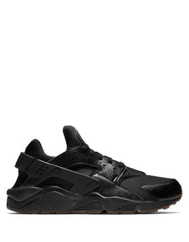 Nike Air Huarache Sneakers-BLACK/GOLD-9.5
