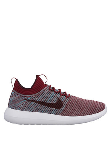 Nike Roshe Two Flyknit V2 Sneakers-RED-9