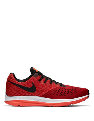 Nike Air Zoom Winflo 4 Running Sneakers-RED-7