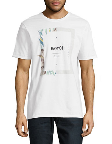 Hurley Bloom Cotton T-Shirt-WHITE-Medium 89999042_WHITE_Medium