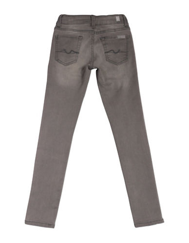 7 For All Mankind Faded Skinny Jeans-STERLING-8