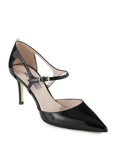 Sjp By Sarah Jessica Parker Phoebe Leather Mary Jane Heels-BLACK-EUR 35/US 5