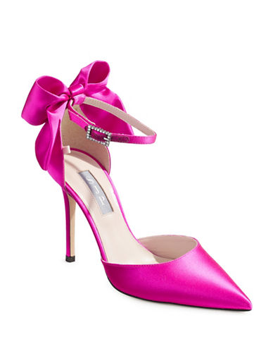 Sjp By Sarah Jessica Parker Candy Satin Trance Pumps-CANDY PINK-EUR 37.5/US 7.5