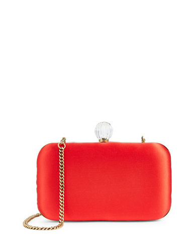 Sjp By Sarah Jessica Parker Ladybird Clutch-RED-One Size