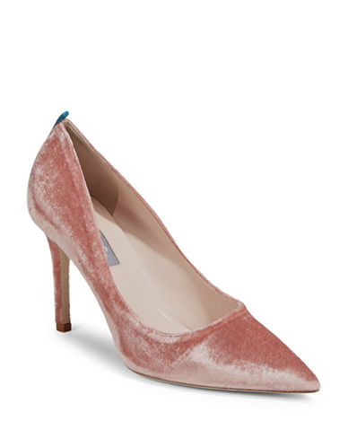 Sjp By Sarah Jessica Parker Fawn Velvet Pointy Pumps-PINK-EUR 41/US 11