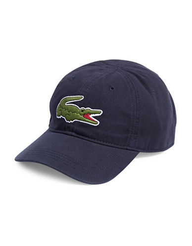 Lacoste Big Croc Cap-NAVY-One Size