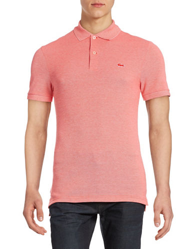 Lacoste Slim Fit Polo-ETNA RED-4/Medium