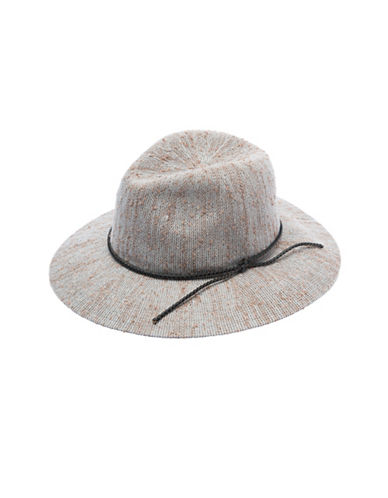 Collection 18 Pop Slub Packable Panama Hat-WHITE-One Size