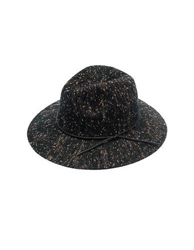 Collection 18 Pop Slub Packable Panama Hat-BLACK-One Size