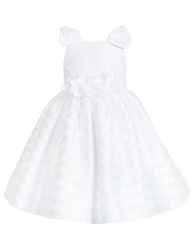 82ca42002c2 888481142422. Kleinfeld Pink The Samantha Flower Girl Dress - White - 4  Toddler