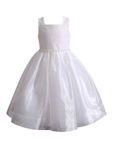 736a6cbc114 888481296729. Kleinfeld Pink Stepanie Flower Girl Dress-WHITE-12