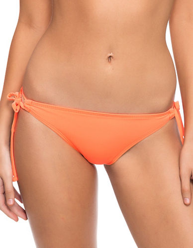 Oakley Core Solids Side-Tie Swim Bottoms-ORANGE-Small