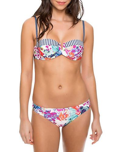 Splendid Full Bloom Underwire Bikini Top-MULTI-X-Small