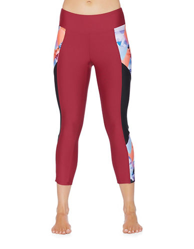 Next Pop Nalu Cropped Leggings-RED-Large 88575656_RED_Large