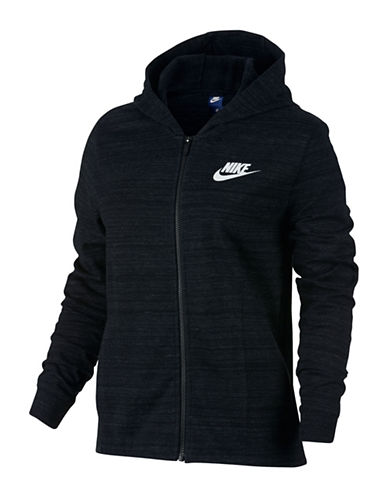 Nike Zip Knit Hoodie-BLACK-Medium 88953019_BLACK_Medium