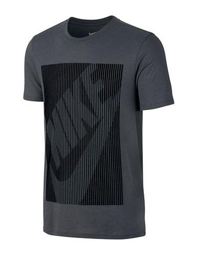 Nike Barcode Logo T-Shirt-GREY-X-Large 88671595_GREY_X-Large