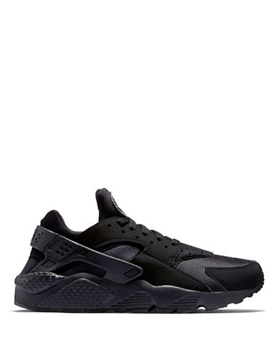 Nike Air Huarache Sneakers-BLACK-10.5