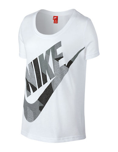 Nike Skyscraper  Logo T-Shirt-WHITE-Medium 88952430_WHITE_Medium